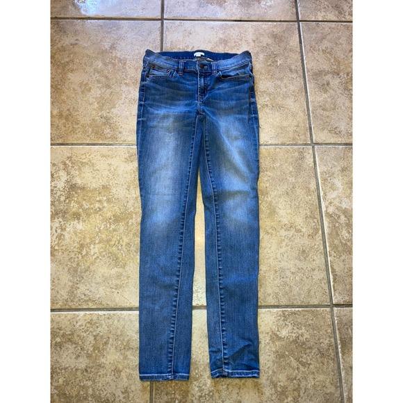 J Crew Skinny Jeans Size 26